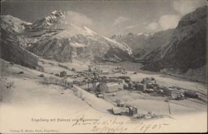 engelberg mit Hahnen und Spannorter Switzerland 1905 postcard