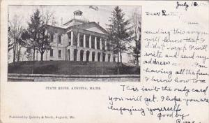 State House Augusta Maine 1905
