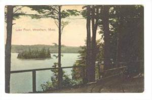 Lake Pearl From Behind Gate,Wrentham,Massachusetts,1908