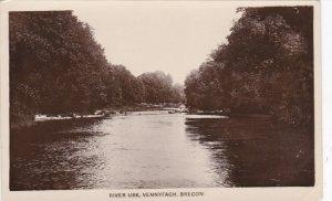 RP: River Usk , Vennyfach , BRECON , Wales , 1910-30s : TUCK