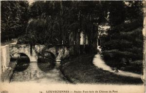 CPA LOUVECIENNES - Ancien Pont-levis du Chateau de Pont (453125)