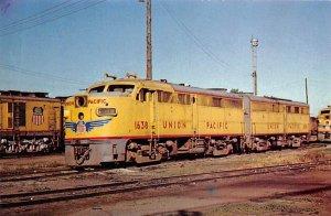 Union Pacific 1638 Cheyenne, Wy., USA Union Pacific Unused