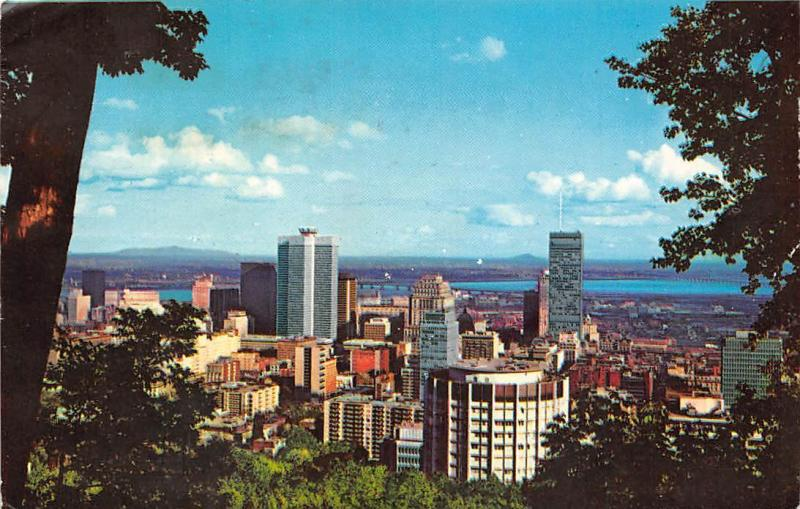 Canada Montreal Quebec Du Mont Royal General view Panorama
