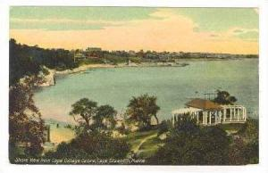 Shore View from Cape Cottage Casino, Cape Elizabeth, Maine, 1900-10s