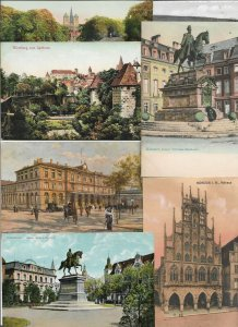Germany - RPPC and Printed Postcard Lot of 55  - 01.01
