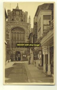 cu0835 - Rye Church , Sussex - postcard