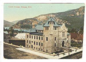 Exterior, Court House, Nelson,B.C.,Canada,PU-191 5