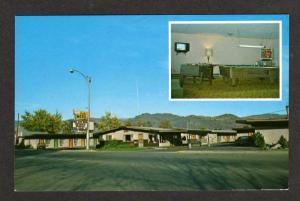 WA Cariboo Motel OROVILLE WASHINGTON Postcard PC