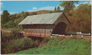 3451 VT Covered bridge over  The  Passumpsic river