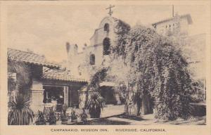 Campanario Mission Inn Riverside California Albertype