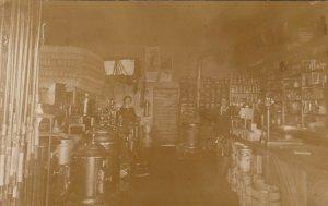 RP: PLENTYWOOD , Montana , 1900-10s ; General Store Interior