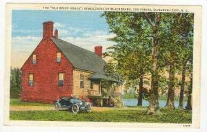 Old Brick House, Rendezvous of Blackbeard, The Pirate, Elizabeth City, Nort...