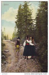 Sweden , RÀttvik , flickor pojke på väg , 00-10s