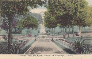 PETERBOROUGH, Ontario, Canada, 1900-10s; Victoria Park and Court House