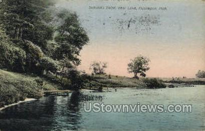 Jackson's Point, Bear Lake Muskegon MI 1910 Missing Stamp
