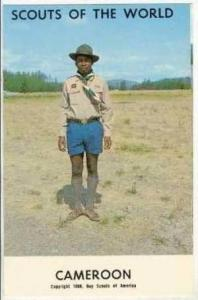 Boy Scouts of the World, CAMEROON SCOUTS, 1968
