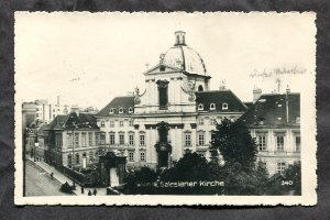 dc1086 - AUSTRIA Wien 1935 Salesianer Kirche. Real Photo Postcard