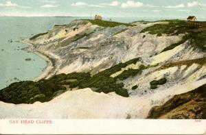 MA - Martha's Vineyard Island. Gay Head Cliffs