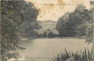Postcard cpa FRANCE le Nouvion lake