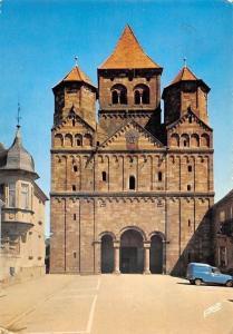 France Marmoutier Mauersmuenster, La Facade Romane de l'Eglise Abbatiale