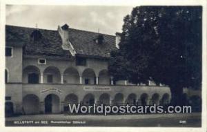 Millstatt am See Germany, Deutschland Postcard Romanischer Stiftshof Millstat...