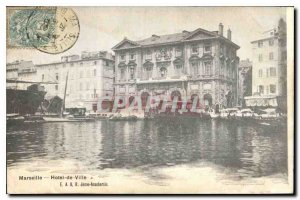 Postcard Old City of Marseilles Hotel