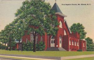 First Baptist Church, Mt. Gilead, North Carolina, 30-40s