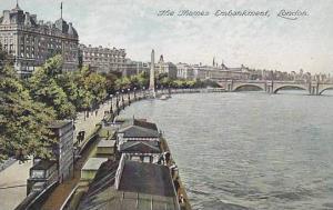 London, The Thames Embankment, England, United Kingdom, 00-10s