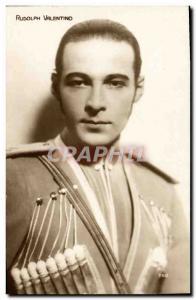 Postcard Modern Cinema Rudolph Valentino