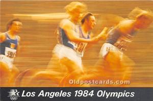 Track and Field, 1984 Los Angeles Olympics Unused