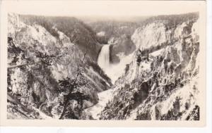 Yellowstone National Park Grand Canyon Artist Point Real Photo
