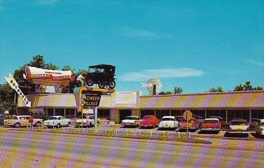Nebraska Minden Entrance To Pioneer Village