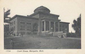 MARQUETTE , Michigan, 1901-07 ; Court House