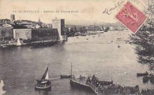 France Marseilles Entree du Vieux Port