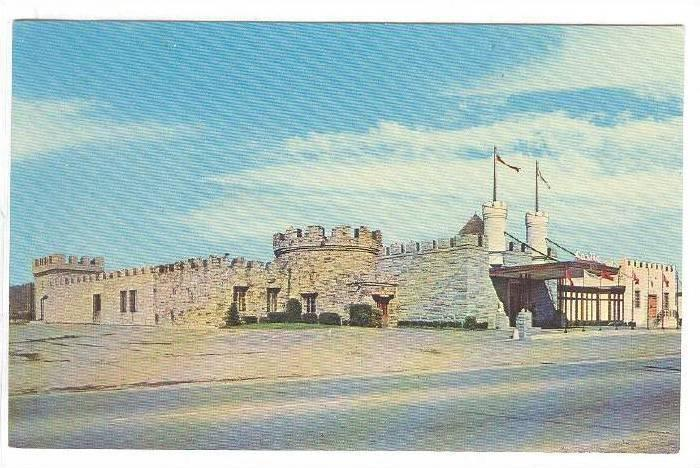 Exterior, The Castle Restaurant, Olean, New York,  40-60s