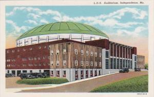 Missouri Independence Latter Day Saints Auditorium Curteich