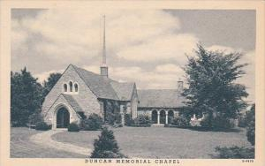 Kentucky Floydsburg Duncan Memorial Chapel