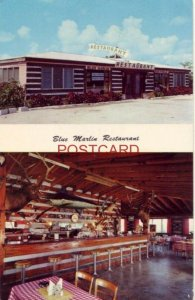 BLUE MARLIN RESTAURANT Highway 1 KEY LARGO, FLORIDA ate Christmas breakfast 1956