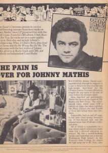 Johnny Mathis Paul Linda McCartney Flexidisc Radio Guide Magazine