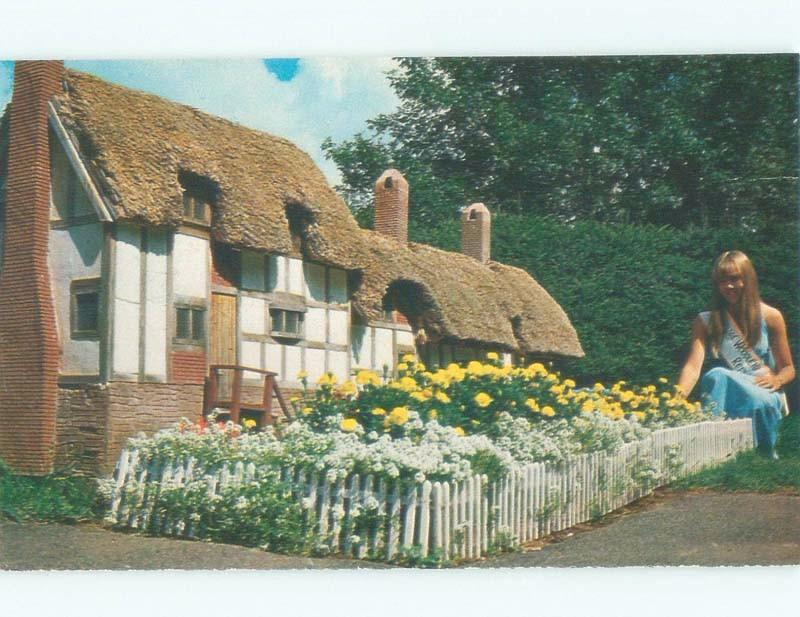 Pre-1980 ANNE HATHAWAY COTTAGE RE-CREATION Burlington - Near Kensington PE E6846