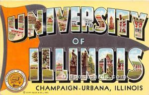 University of Illinois, IL, USA, Chapaign Urbana, Illinois, IL, USA 1944 Miss...
