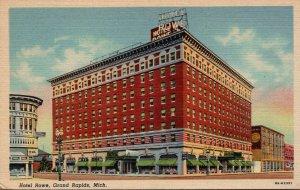 Michigan Grand Rapids Hotel Rowe Curteich