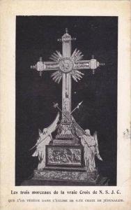 Les Trois Morceaux De La Vraie Croix De N.S.J.C., Jerusalem, Israel, 1900-10s