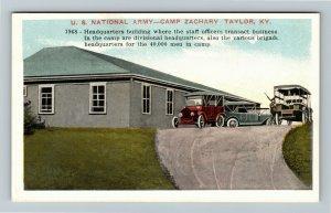 Taylor, KY-Kentucky, U. S. National Army-Camp Zachary,  Vintage Postcard