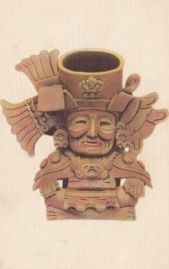 Funerary Urn , Zapotec Culture, Oaxaca , Mexico , 30-40s