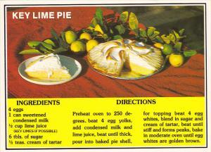 Florida Key Lime Pie Recipe