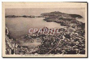 Old Postcard Beaulieu sur Mer and Saint Jean Cap