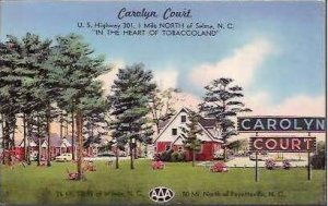 SC Selma Carolyn Court 1954