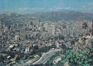 Aerial View of Seoul Metropolitan, SEOUL, South Korea, 50-70's