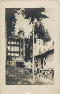 Romania Slanic Moldova Vila A. Bobinca photo postcard - rare